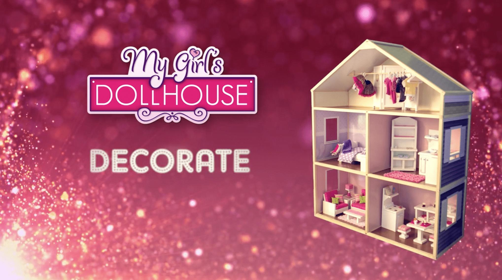My girls dollhouse